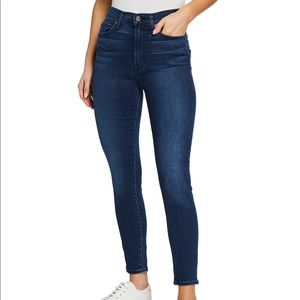 7 for All Mankind Gwenevere High-Waist Ankle Jeans